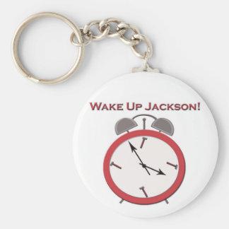 WAKE UP JACKSON KEY RING