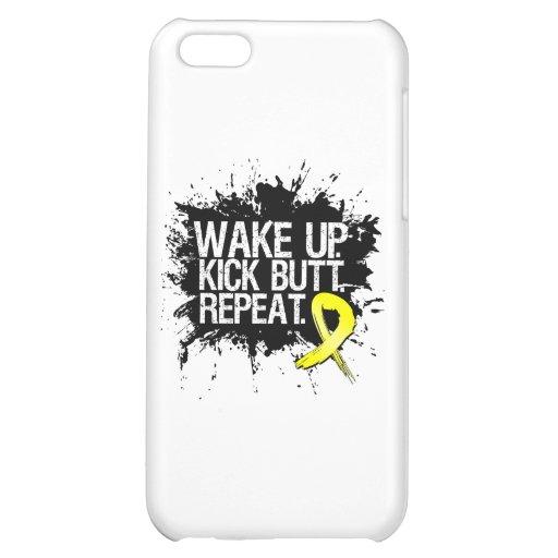 Wake Up Kick Butt Repeat - Endometriosis Case For iPhone 5C