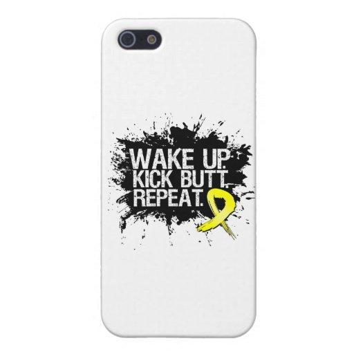 Wake Up Kick Butt Repeat - Endometriosis Covers For iPhone 5