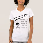 Wake Up Look Up Speak Up For Me Chemtrails Kill Tee Shirts