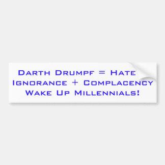 Wake Up Millennials Bumper Sticker