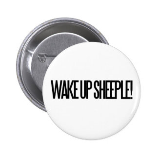 Wake up Sheeple 6 Cm Round Badge