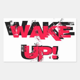 Wake Up!  Sticker