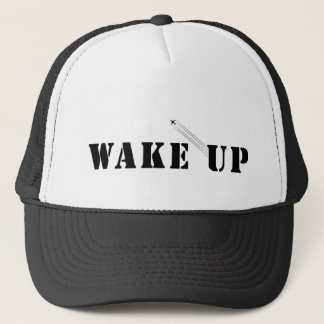WAKE UP TRUCKER HAT