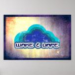 Wake & Vape Poster
