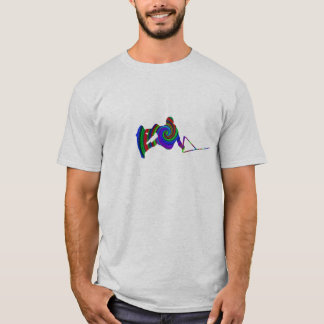 Wakeboard Colour Swirl T-Shirt