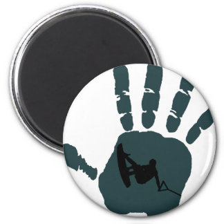 Wakeboard Grab This 6 Cm Round Magnet