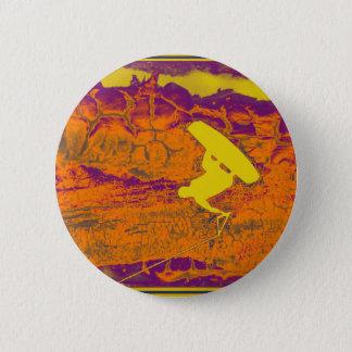 Wakeboard Heat 6 Cm Round Badge