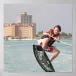Wakeboard Jump Print
