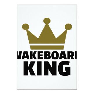Wakeboard King 9 Cm X 13 Cm Invitation Card