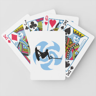 WAKEBOARD THUNDER BROUGHT BICYCLE PLAYING CARDS