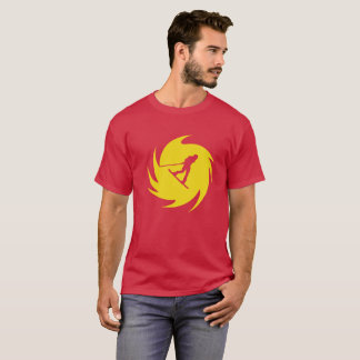 Wakeboard Yellow Swirl T-Shirt
