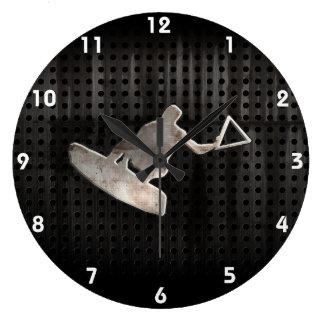 Wakeboarder; Cool Black Clocks