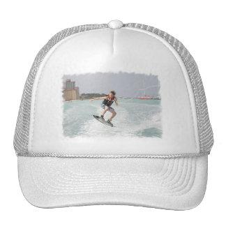 Wakeboarder Jumping Baseball Cap
