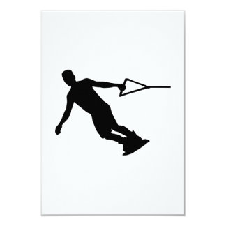 Wakeboarding 9 Cm X 13 Cm Invitation Card
