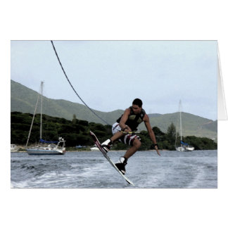 Wakeboarding Card