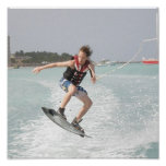 Wakeboarding Jump Print