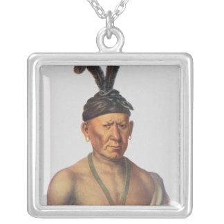 Wakechai or 'Crouching Eagle', a Sauk Chief Jewelry