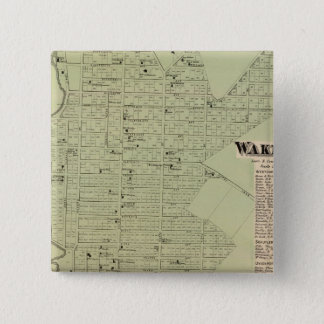 Wakefield, Bronxdale 15 Cm Square Badge