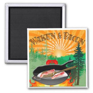 Wake'n & Bacon Magnet
