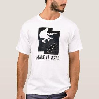 wakeskate, MAKE IT WAKE T-Shirt