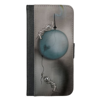 WakeUp Call iPhone 6/6s Plus Wallet Case