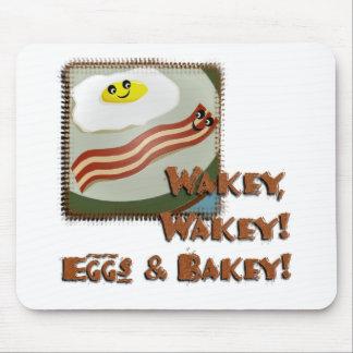 Wakey Eggs Bakey Mousepads