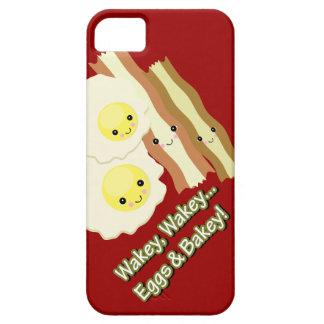 wakey wakey eggs and bakey kawaii bacon eggs case for the iPhone 5