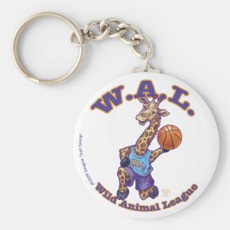 WAL Basketball Key Chain