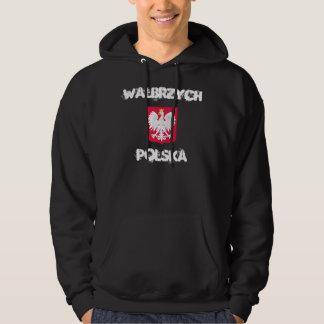 Walbrzych, Polska, Poland with coat of arms Hoodie