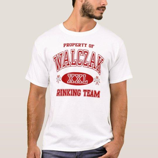 Walczak Polish Drinking Team t shirt