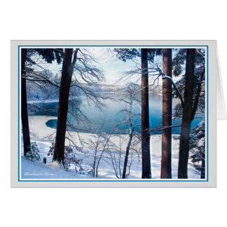 Walden Pond-All men are children and of one family Card