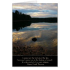 """Walden Pond """"My Own Infinity"""" Card"""