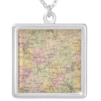 Waldo County, Maine Silver Plated Necklace