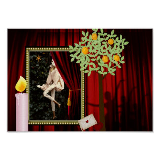 Waldolala ballet , poster