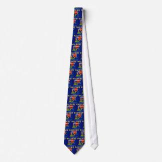 Waldorf Apples Tie