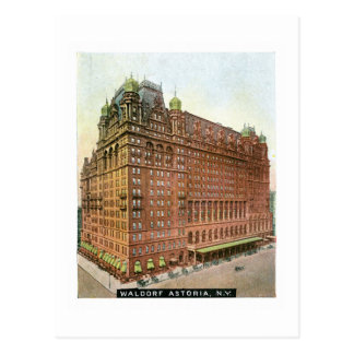 Waldorf Astoria, New York Post Card