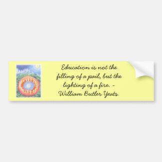 waldorf school bumper sticker