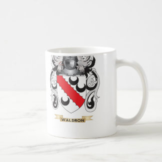 Waldron Family Crest (Coat of Arms) Mugs