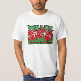 Wales 2012 Grand Slam Winners Welsh Dragons T shir T-Shirt