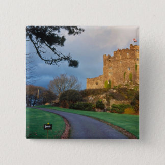 Wales - A private welsh castle near St. 15 Cm Square Badge