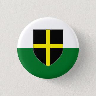 Wales Badge - St. David Shield on Green & White