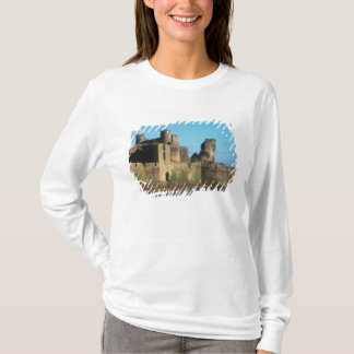 Wales - Caerphilly castle, with a view of the T-Shirt