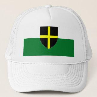 Wales Cap - St. David Shield on Green & White