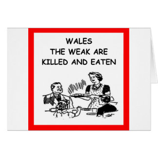 WALES CARD