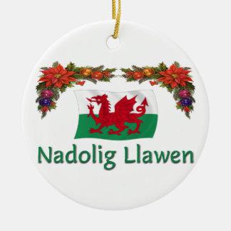 \Wales Christmas Christmas Ornament