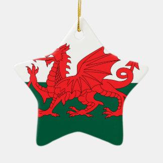 Wales Christmas Ornament