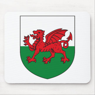Wales Coat of Arms Mousepad