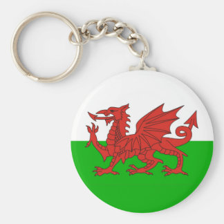 wales country dragon flag welsh british key ring
