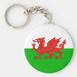 wales country flag british nation welsh symbol key ring